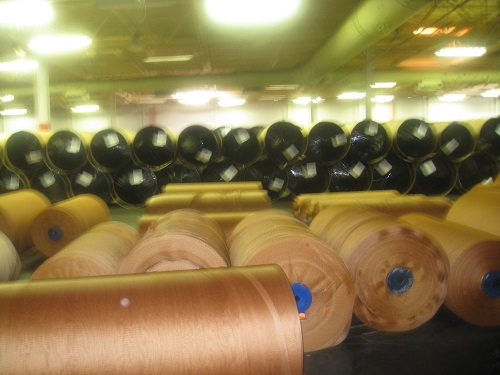 Tire Cord Fabrics Treated rolls